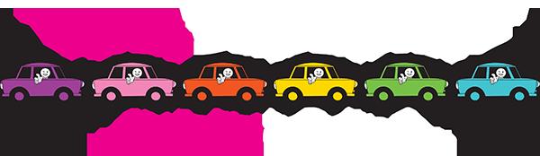 Pink Trabant Budapest Tour logo